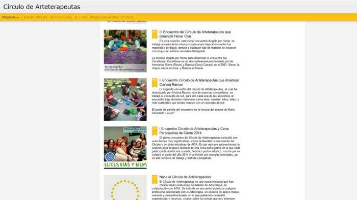 Blog Círculo de Arteterapeutas