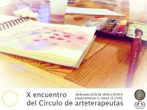 X Encuentro Círculo de Arteterapeutas @ Centro Espacio Interno | Madrid | Comunidad de Madrid | España