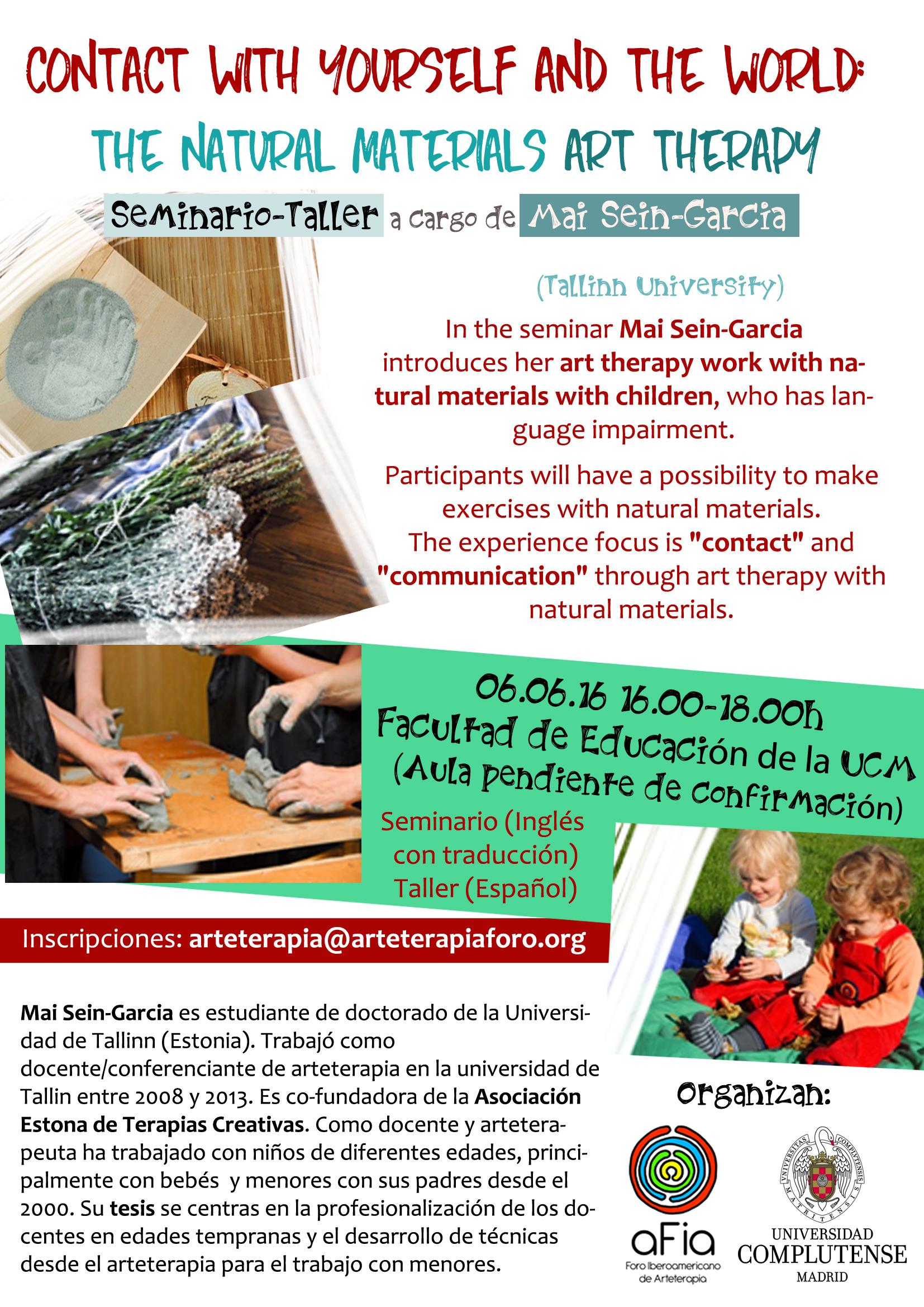 Seminario taller Mai Sen AFIA-UCM 06-06-16